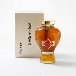 高麗人参 6年根 蜂蜜漬 ギフト(ローヤルゼリー10g添加)1480g